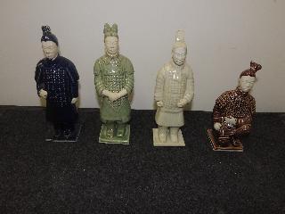 statuine guerrieri cinesi