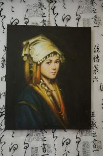 dipinto cinese roma