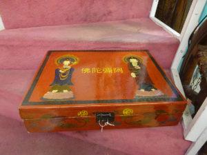 scatola orientale antica