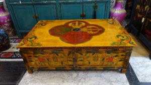 tavolo basso tibetano